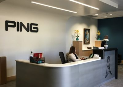 PING lobby
